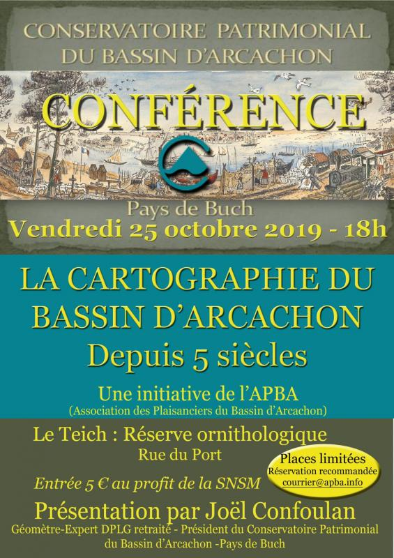 Affiche conference cartographie apba