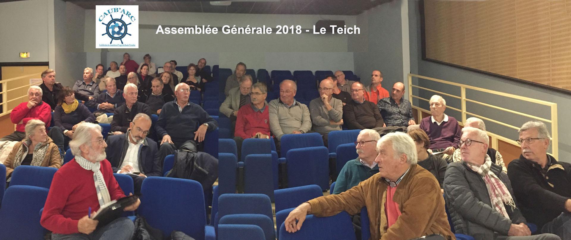 Ag caub arc 2018 salle