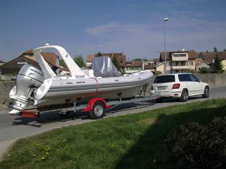 Boat remorque